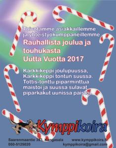 jäsenlehden joulutervehdys 2016